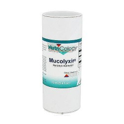 Nutricology Mucolyxir liquid nanotech nutrients supports respiratory health, 10 ml