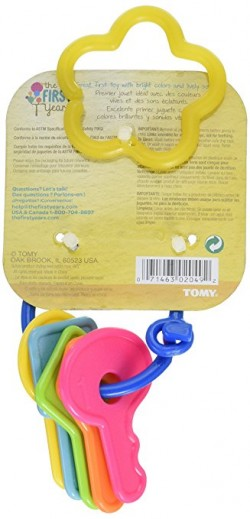 The first years baby teether first keys - 3 ea