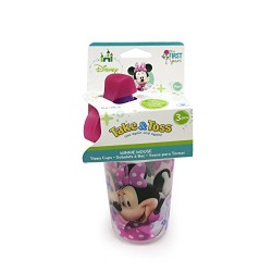 Disney Minnie Mouse Take And Toss Sippy Cup - 4 ea