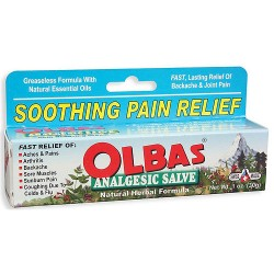 Olbas Analgesic Salve For Backache and Joint Pains - 1 Oz