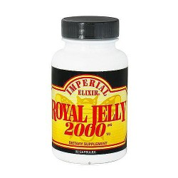 Imperial Elixir Royal Jelly 2000 mg capsules - 30 ea