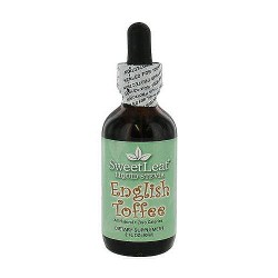 Sweet Leaf Stevia Liquid Drops, English Toffee - 2 oz
