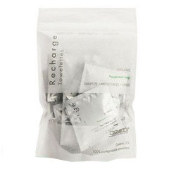 Giovanni recharge organic peppermint surge mint toweletts - 1 ea