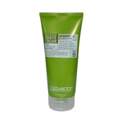 Giovanni shave cream invigorating tea tree and mint - 7 oz