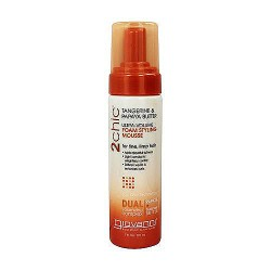 Giovanni 2chic Ultra Volume Foam Styling Mousse, Tangerine and Papaya Butter - 7 Oz