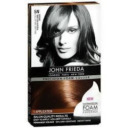 John Frieda Brilliant Brunette medium natural brown hair colour, #5N - KIT