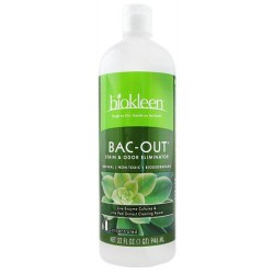 Biokleen bac-out stain and odor eliminator - 32 oz , 12 pack