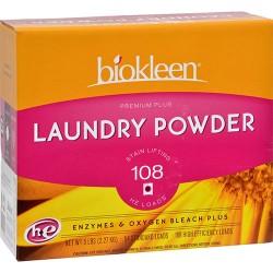 Biokleen premium plus laundry detergent - 80 oz
