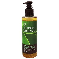 Desert Essence thoroughly clean face wash with tea tree oil and awaphuhi, 8.5 oz