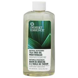 Desert Essence Tea Tree Oil Spearmint Mouthwash - 8 oz