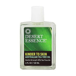 Desert Essence kinder to skin Australian tea tree oil, 4 oz
