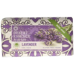 Desert essence bar soap, lavender - 5 oz