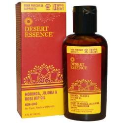 Desert essence moringa with jojoba and rose hip oil - 2 oz