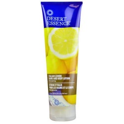 Desert essence hand and body lotion, italian lemon - 8 oz