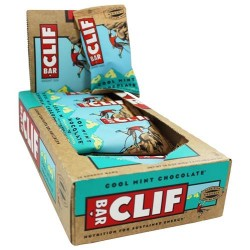 Clif bar cool mint chocolate energy bar - 2.4 oz, 12 pack