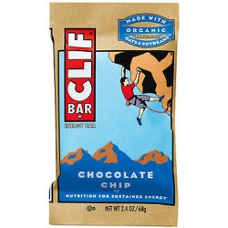 Clif energy bar chocolate chip - 12 ea