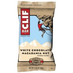Clif bar energy bar white chocolate macadamia nut - 28 oz, 12 ea