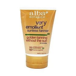 Alba Botanica very emollient sunless golden tanning lotion - 4 oz