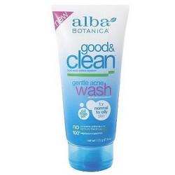 Alba Botanica Good and Clean Gentle Acne Wash - 6 oz