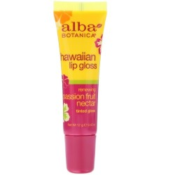 Alba Botanica Hawaiian lip gloss, Passion fruit nectar - 0.42 oz
