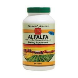 Bernard jensen alfalfa leaf 550 mg tablets - 500 ea
