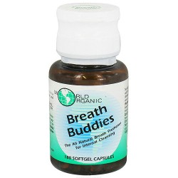 World Organic Breath buddies softgel capsules - 180 ea