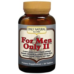 Only Natural - for men only II ultra potent male formula - 30 tablets