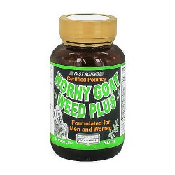Only Natural Horny Goat Weed Plus Capsules For Men and Women - 60 ea