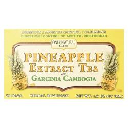 Only natural tea pineapple extract garcinia cambogia tea bags - 20 ea