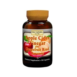 Only Natural Apple Cider Vinegar Plus - 90 Capsules