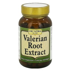 Only Natural Valerian Root Extract 1000 mg Softgels - 60 ea