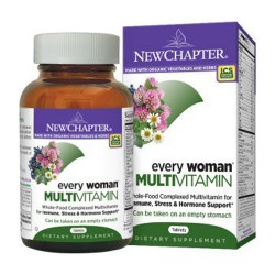 New chapter, every woman multivitamin  -  120 ea