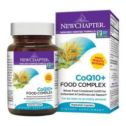 New chapter coq10+ food complex vegetarian capusles  -  30 ea