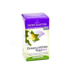 New chapter green and white tea force,vegetarian capsules  -  60 ea