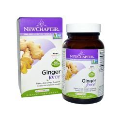New chapter ginger force softgels  -  60 ea