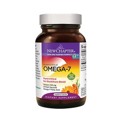 New chapter supercritical omega7  sea buckthorn blend vegetarian softgels  -  60 ea