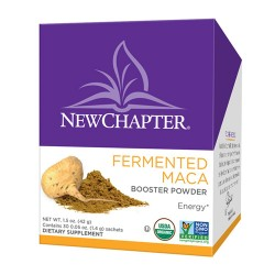 New chapter fermented maca booster powder  -  30 ea