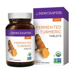 New chapter fermented turmeric tablets  -  96 ea