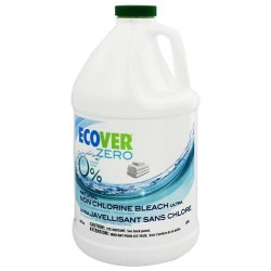 Ecover ultra non- chlorine laundry liquid bleach 64 oz. (1.l)L