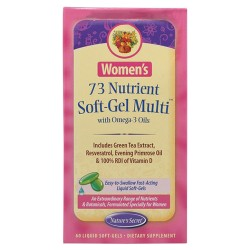 Nature's secret women's 73 nutrient soft gel multi - 60 ea