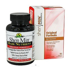 Shen Min hair nutrient original formula tablets for 30 day supply, 90 ea