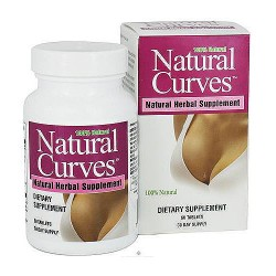 Biotech Natural Curves Breast Enhancement Natural Herbal Supplement Tablets, 60 Ea