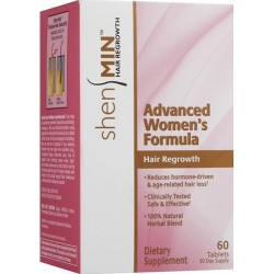 Shen Min advanced women's formula hair regrowth tablets - 60 ea