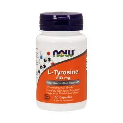 Now foods l- tyrosine 500 mg capsules - 60 ea