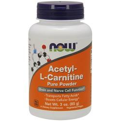 Now foods acetyl-l-carnitine pure powder - 3 oz