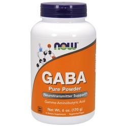 Nowfoods gaba pure powder dietry supplements, Powder - 6 oz