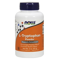 Nowfoods l-tryptophan powder dietry supplements, Powder - 2 oz