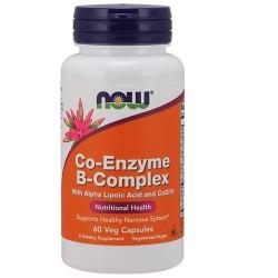 Now Foods Co-Enzyme B-Complex veg capsules - 60 ea
