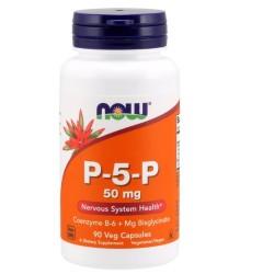 Now Foods P-5-P 50 mg veg capsules - 90 ea