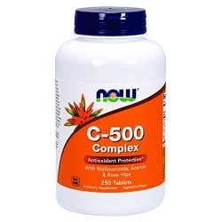 Now foods c-500 complex tablets - 250 ea